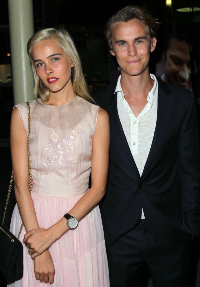 Isabel Lucas and Rhys Wakefield