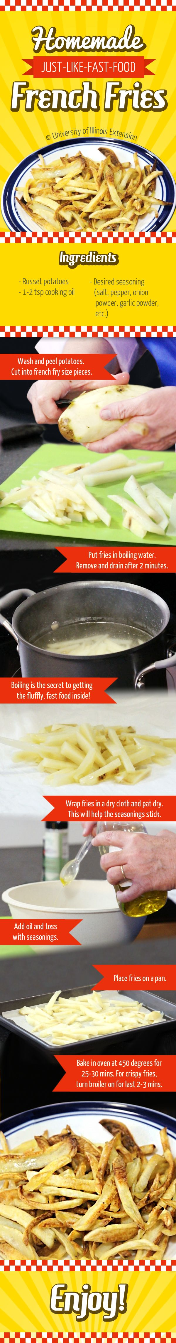 How to Make Just-Like-Fast-Food French Fries