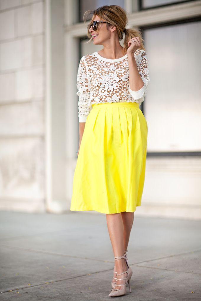 Cute Ways To Wear A Midi Skirt
