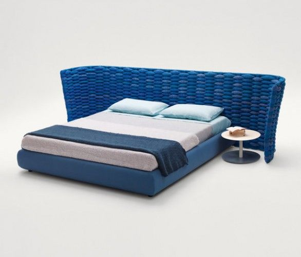 Silent Bed By Francesco Rota For Paola Lenti Ddc Upholstered