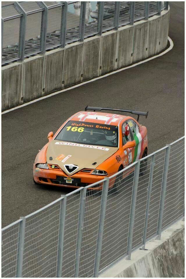 Alfa 166 race