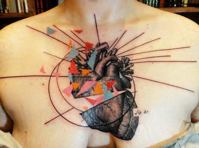 Tattoo Artist - Xoil  Tattoo   www.worldtattoogallery.com/chest_tattoos