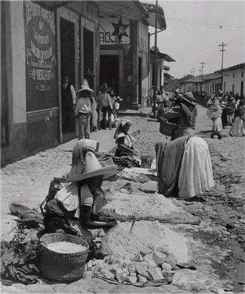 Panteon Municipal de aguazul en Puebla 1910
