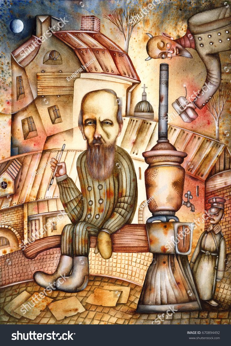 Fyodor Dostoyevsky - caricature of the Russian writer. 1821 - 1881. By Eugene Ivanov #fyodor #dostoyevsky #dostoyevsky #eugeneivanov #author #literature #russia #russian #writer #caricature #cartoon #literary_arts, #russian_writer #@eugene_1_ivanov #brothers_karamazov #crime_and_punishment #idiot #poor_folk #white_nights