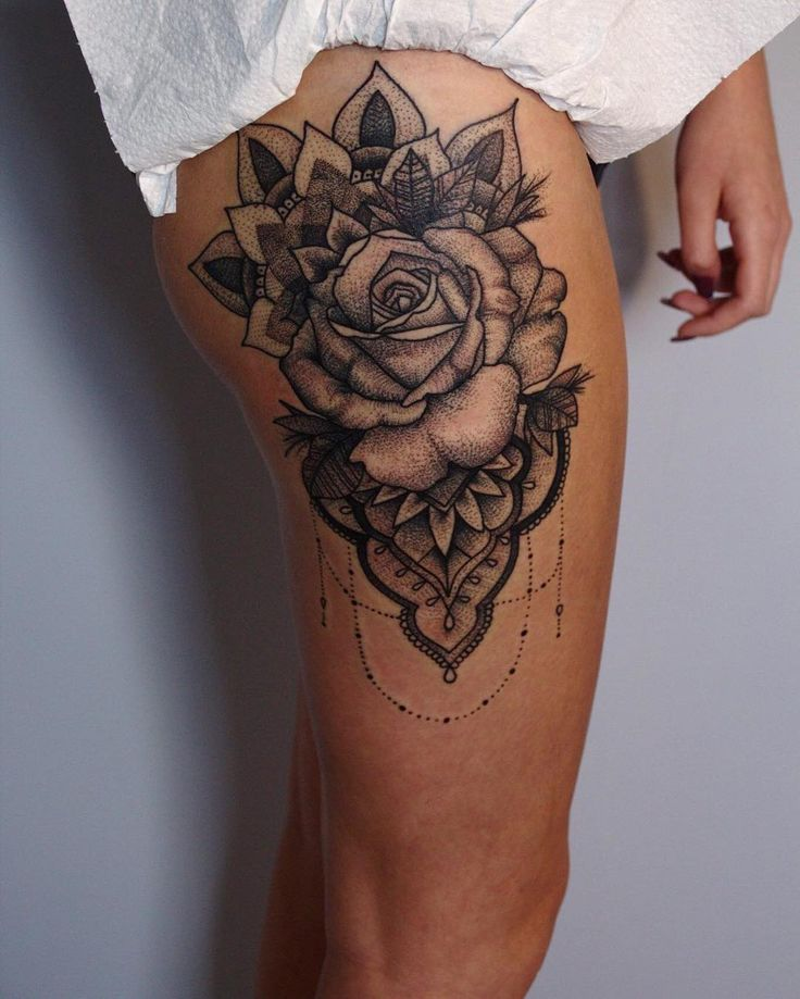 The 632 best images about best tattoo design idea on for Getting thigh tattoo