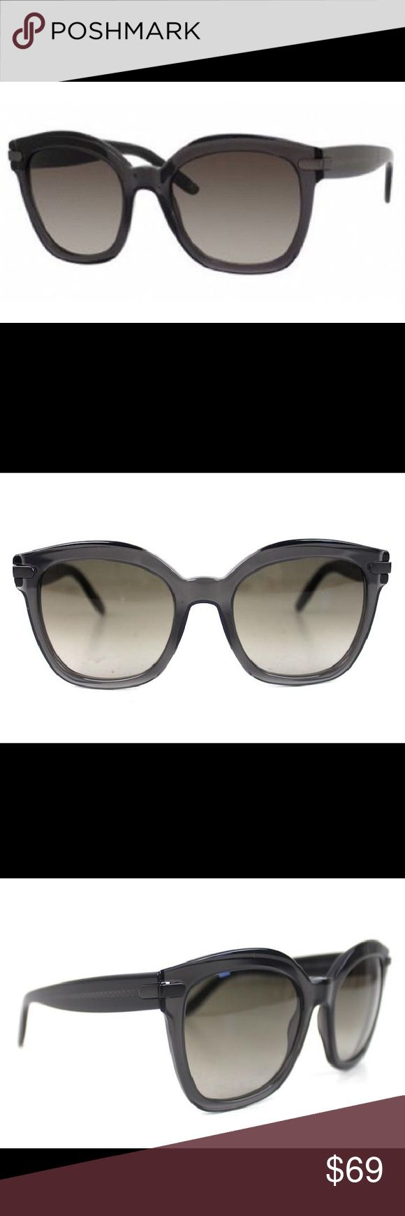 Bottega Veneta Oversize Women's Sunglasses Like new pair of Bottega Veneta oversize sunglasses! Frame is a gorgeous dark grey that has a hint of transparency when in the light. Style BV218/S. A timeless pair of frames that will be a staple in your wardrobe! Does not include case. Bottega Veneta Accessories Sunglasses
