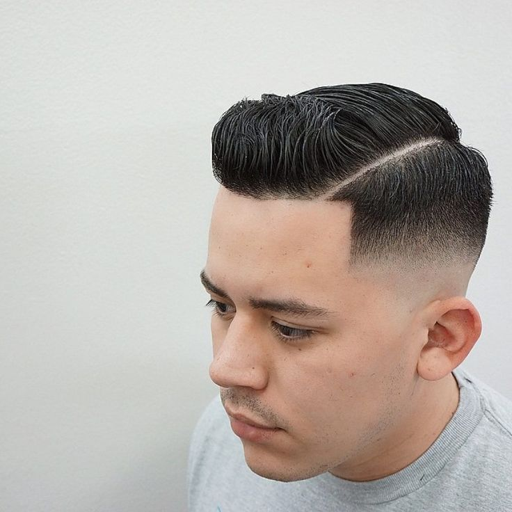 Skin Fade + Comb Over