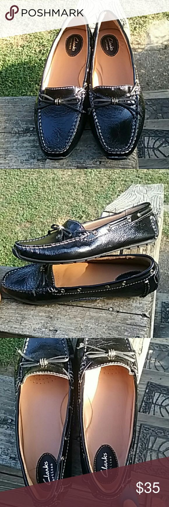 (NWOT) Clarks artisan casual shoes Women 's  Clarks, Dunbar Groove Slip on shoe Clarks  Shoes Flats & Loafers