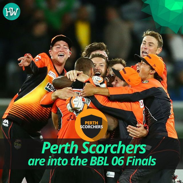 And it's Game Over! Perth Scorchers have jumped into yet another #BBLFinal #BBL06