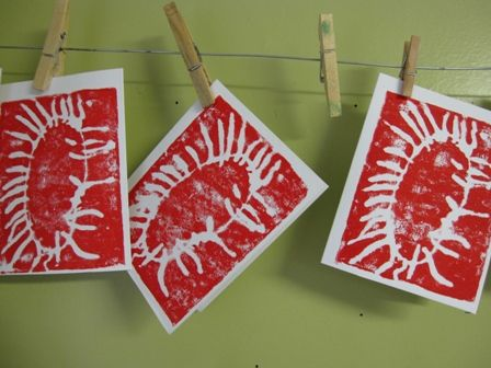 137 best printmaking ideas for children images on pinterest - Printing With Children