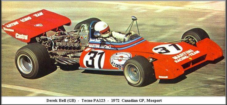 1972 GP Kanady (Derek Bell) Tecno PA123B