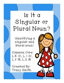 Singular and Plural NounsCommon Core Aligned - This is an easy to use packet to teach singular and plural nouns!
