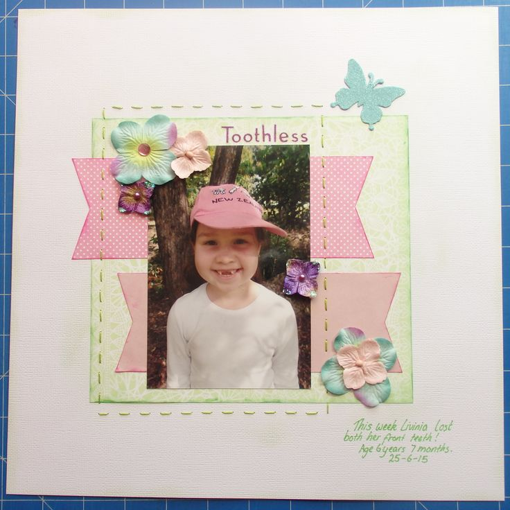 Scrapbook page by Laura: Toothless