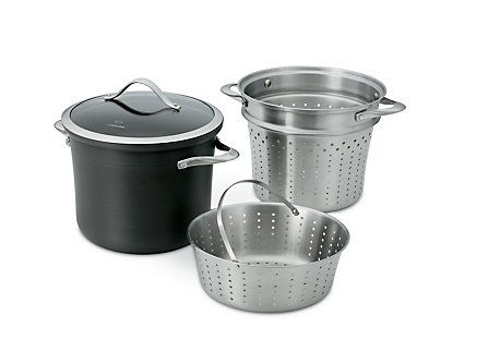 Shop for Calphalon Contemporary Nonstick 8-qt Multi-Pot with Steamer at Calphalon Store