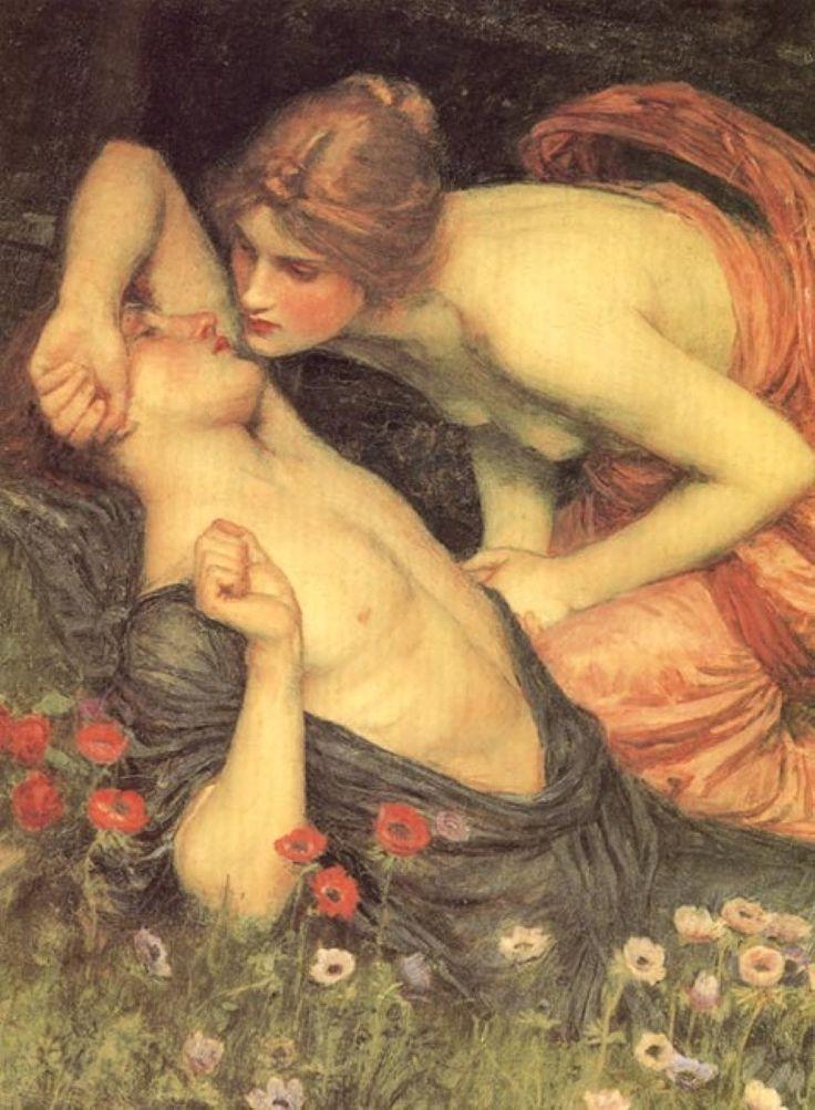 The Awakening of Adonis, John William Waterhouse.