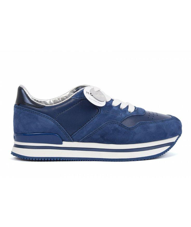 Sneakers for Women On Sale, Navy Blue, suede, 2017, 7 Hogan