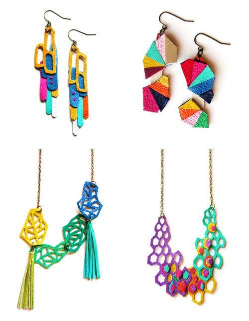 BooandBooFactory  Geometric Wow series: Jewelry