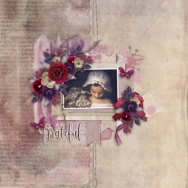 Grateful by Laitha's Designs. Template White Space #5 by Heartstrings Scrap Art. Photo per kind favour of Marta Everest Photography.