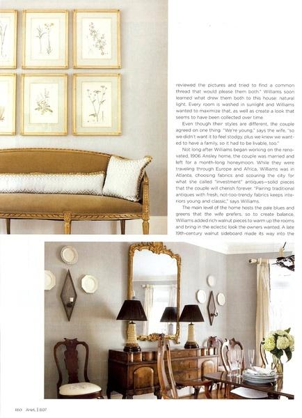 Designer Liz Williams-Atlanta Home & Lifestyles