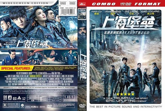 Cover Dvd Shanghai Fortress 2019 Cover Dvd