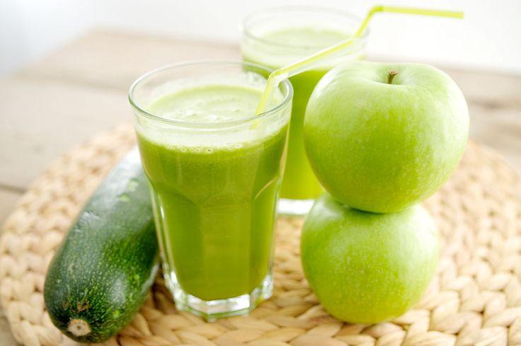 Groene sap appel cougette - met Granny Smith OER-fruit