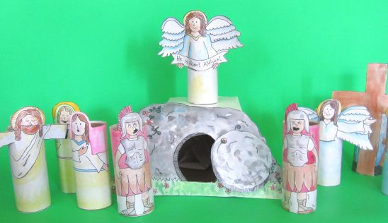 resurrection day craft | Envelope Easter Bunny