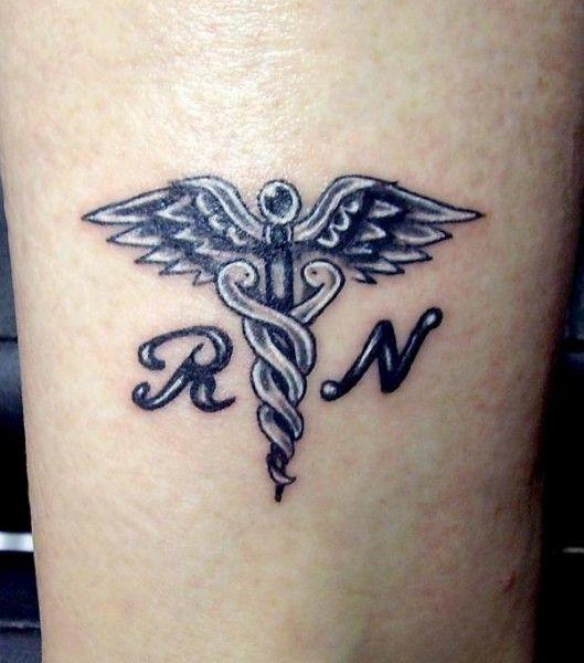 Tattoo Ideas Nurse: 7 Best Caduceus Tattoo Images On Pinterest
