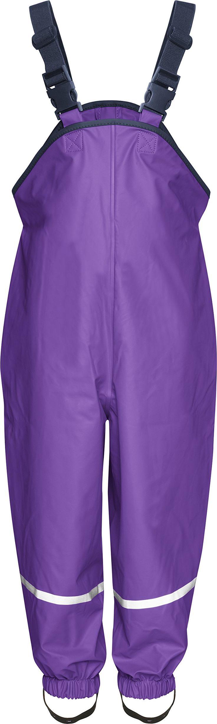 Playshoes Unisex Baby and Kids' Rain Pants 2-3 Years Purple