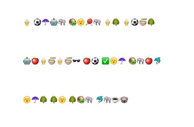 Emoji code for a breakout clue