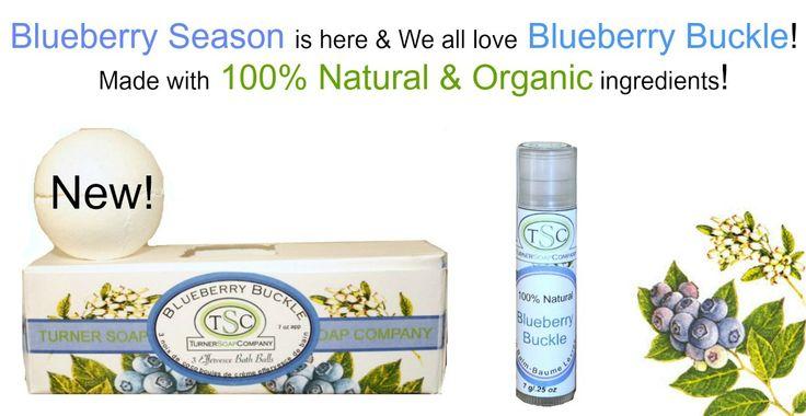 Wild Blueberries & Organic Ingredients!