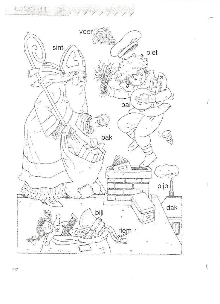 VLL Sinterklaas Kopieerblad 1