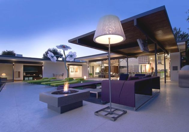 Huis in de heuvels van Hollywood #design #architectuur