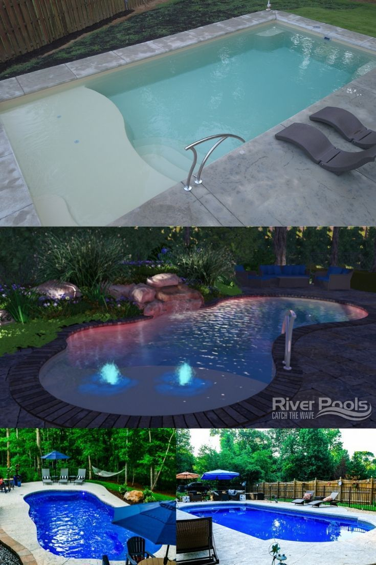 What Are The Best Fiberglass Pool Shapes In 2020 Inground Pool