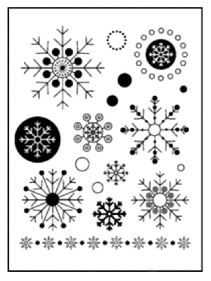Les 25 meilleures id es de la cat gorie flocon de neige - Dessin flocon de neige facile ...