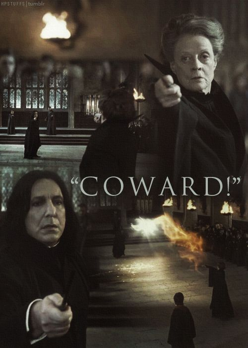 82 best snape and minerva awesome images on Pinterest ... Dumbledore Vs Snape