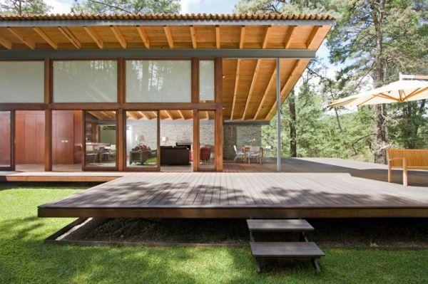 la maison en bois permet une vie saine et pleasante