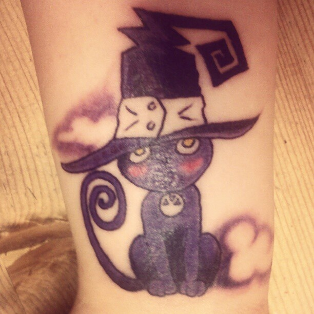 my blair cat soul eater tattoo tattoos pinterest cats soul eater and tattoos and body art. Black Bedroom Furniture Sets. Home Design Ideas