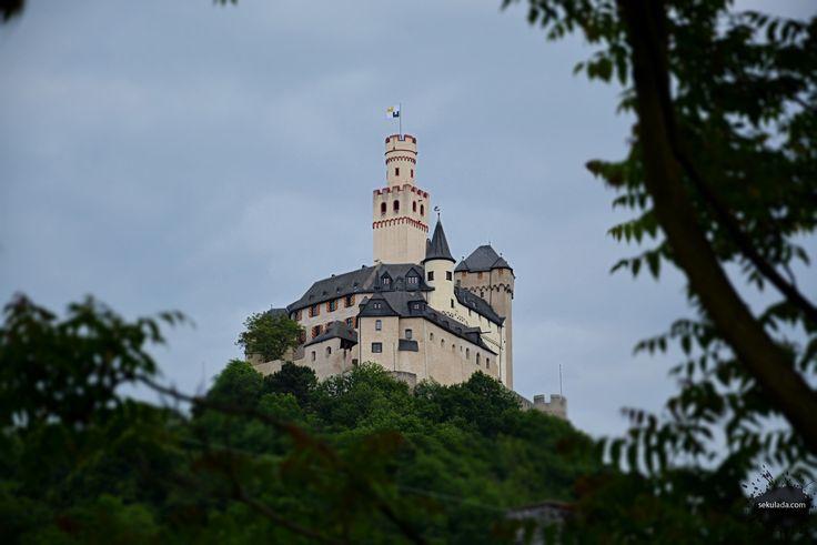 Marksburg Castle in Germany.