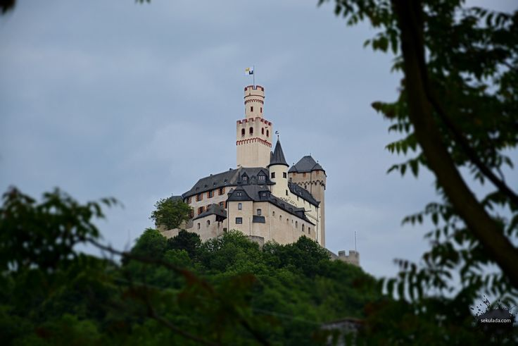Marksburg Castle in Germany.