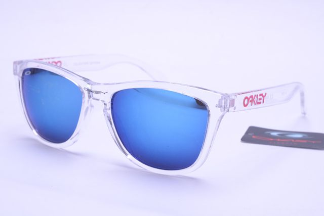 Oakley Frogskins Sunglasses White Frame Colorful Lens B397 [OK451] - $21.88 : Cheap Oakley Sunglasses For Sale,Largest Ray Ban Sunglasses Wholesalers