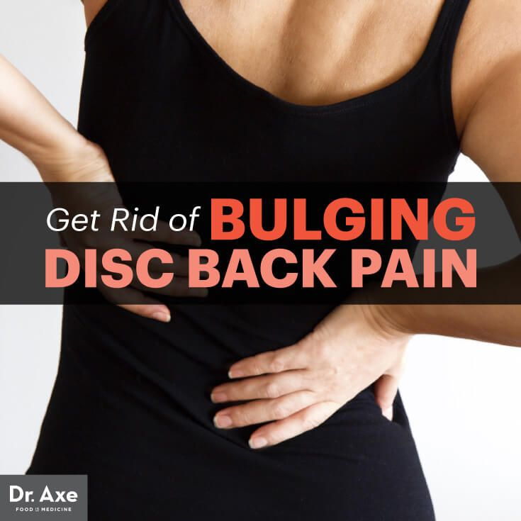 Bulging disc - Dr. Axe http://www.draxe.com #health #holistic #natural