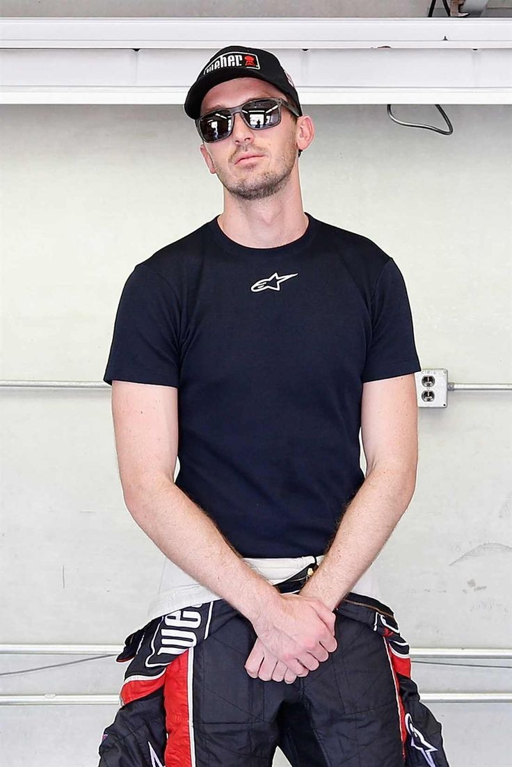 At-track photos: Indianapolis Motor Speedway Sunday, July 23, 2017 Ben Kennedy, driver of the No. 96 Weber Chevrolet, stands in the garage area during practice for the NASCAR XFINITY Series Lilly Diabetes 250 at Indianapolis Motor Speedway on July 21, 2017 in Indianapolis, Indiana. Photo Credit: Matt Sullivan/Getty Images Photo: 75 / 77