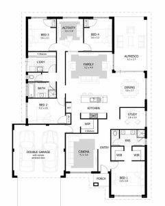 Arched 4 Bedroom Bungalow Bungalow Floor Plans Four Bedroom House Plans 4 Bedroom House Designs