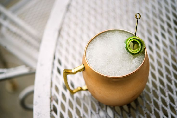 Frozen Moscow Mule: Named in homage to vodka's Russian roots, this frozen riff sticks closely to tradition and the recipe remains almost entirely unchanged.  The sole addition is ice, which transforms the Moscow Mule from a classic cocktail to a very cold classic cocktail.