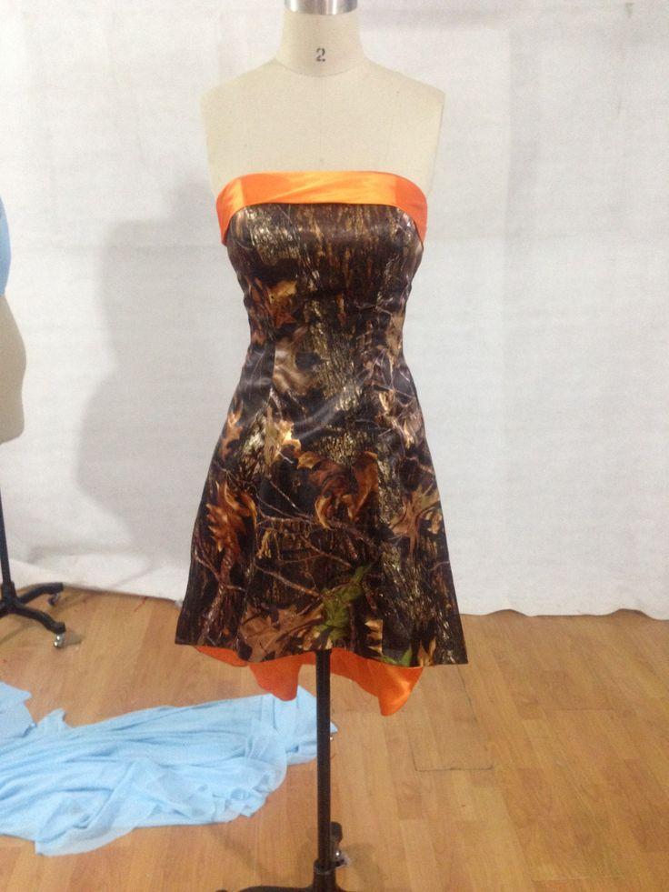 Camo Dresses, High-Low Bridesmaid Dresses, Prom Dresses
