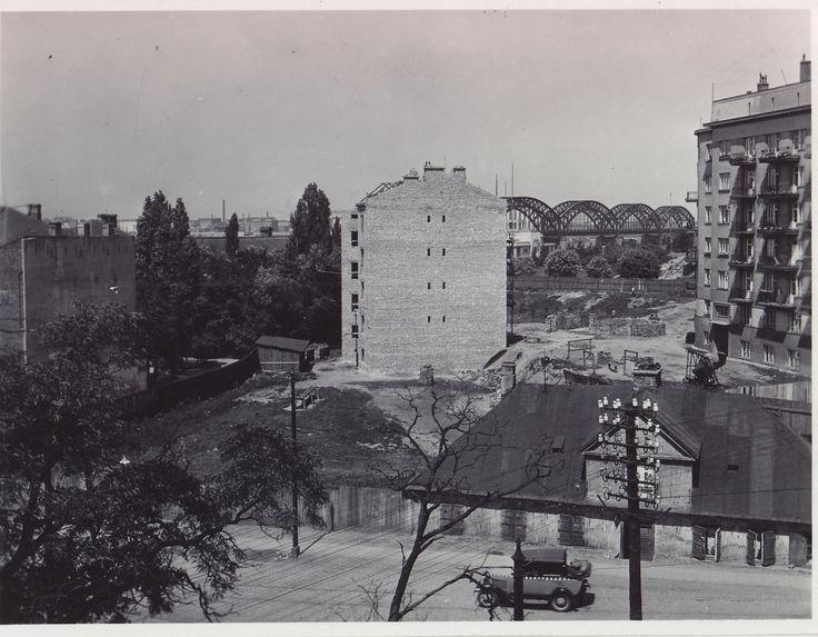 Warszawa - Powiśle, ul. Solec (1935)