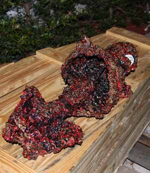 Burned Body looking from the side. I found this and instructions on how to make it. I am so giving this a try!