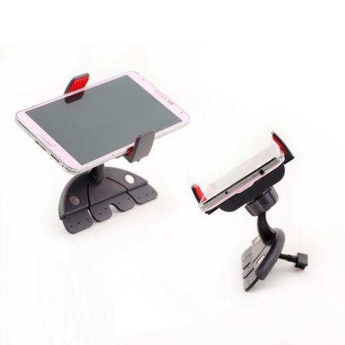 Car CD Slot Mount Stretchable Cradle Phone Holder for Smartphone GPS