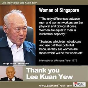 lee kuan yew quotes - Bing Images