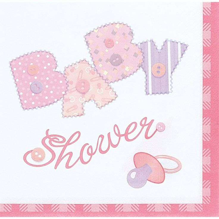 Pink Stitch Themed Napkin